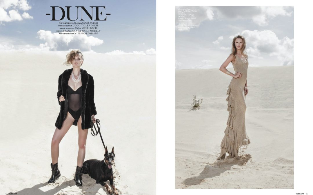 Elegant Magazine October 2014 -DUNE-